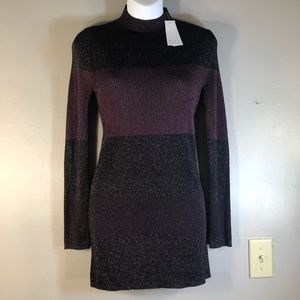 NWT White House  Black Market Long-Sleeve Dress